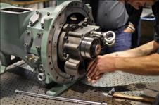 نصب و تعمیر ماشین آلات صنعتی (لبنیات) و کمپرسور باد