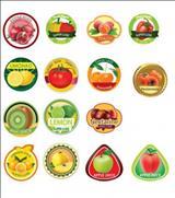 چاپ لیبل میوه.چاپ لیبل رول میوه . چاپ لیبلopp آب معدنی